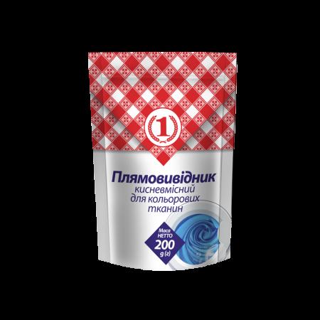 Кислородосодержащий пятновыводитель ТМ «1» для цветного белья