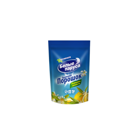 Стиральный порошок «Белые паруса» Лимонная свежесть