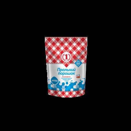 Стиральный порошок для ручной стирки изделий из белых тканей ТМ «1»
