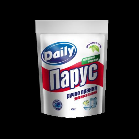 Універсальний пральний порошок «Парус» Daily для ручного прання