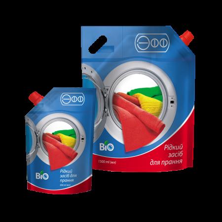 Рідкий універсальний засіб «ЭФФ BIO» для машинного та ручного прання