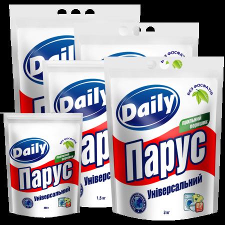 Универсальный стиральный порошок «Парус» Daily